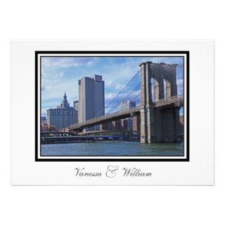 Brooklyn Bridge & Municipal Building Announcement