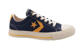 Converse Star Player Ox Lo Canvas Trainer Navy Blue