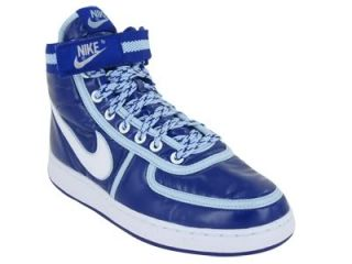 Nike Vandal High Women Basketball Concord Air Zoom Hi Tops Purple Blue