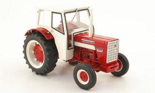International Harvester 624, rot/weiss, mit Kabine, 132, Replicagri