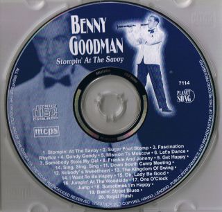 BENNY GOODMAN Sugar Foot Stomp Neu & OVP ♫♫