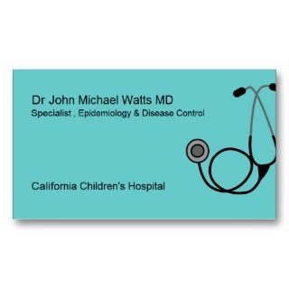 Visiting Card Design For Eye Doctors Business Cards Business Card