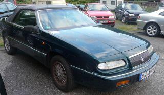 Chrysler Le Baron, grün, 133.165 km, gut erhalten, Getriebeschaden
