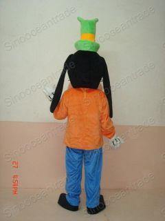 Goofy Chien Adulto Mascotte Costume Halloween EUR