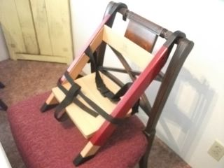 DANISH MODERN ART FURNITURE denmark childs booster high chair vtg