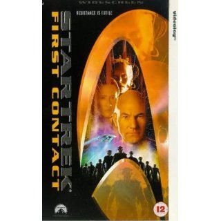 Star Trek 8   First Contact [VHS] [UK Import]: Patrick Stewart