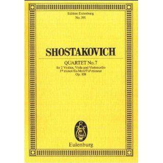Streichquartett Nr. 7 fis Moll op.108, Partitur Dmitrij