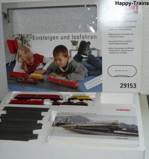 Märklin 29153 Startpackung Güterzug E Lok 185 DIGITAL