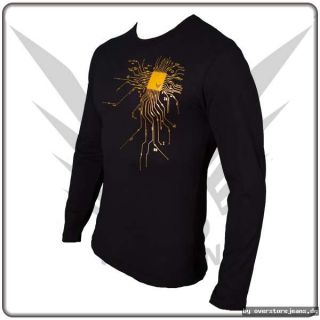 Fancybeast Black Longsleeve Shirt Hamma Print S M L XL XXL Xtrem