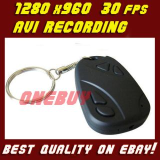 Mini Spion Kamera DV Car Key Spy Cam 1280x960 ! 30FPS