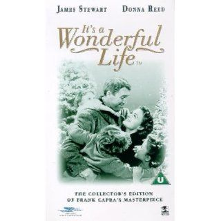 Its a Wonderful Life [VHS] [UK Import] James Stewart, Donna Reed