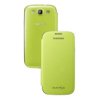 Genuine Samsung Galaxy S3 Notebook Style Flip Case Mint EFC 1G6FMECSTD