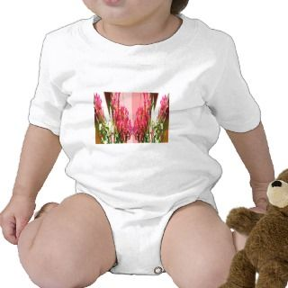 Pink Floral Arrangements Shirts