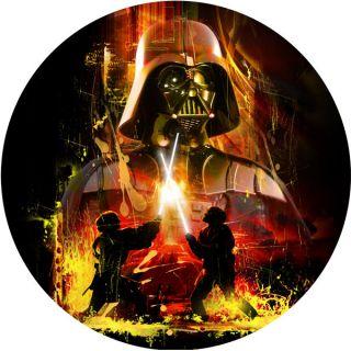 Tortenaufleger Star Wars Darth Vader Geburtstag Torte (1 St)