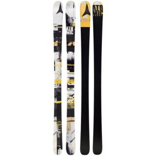 ATOMIC VANTAGE PANIC Alpine Skis 181 All Mountain Twin Tips BLACK