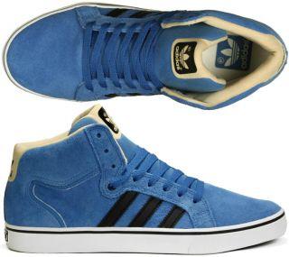 Adidas Schuhe Superskate Vulc Mid ST blue/black skate alle Größen