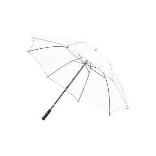 Golfschirm   Regenschirm XXL 127 cm Durchmesser Farbe weiss