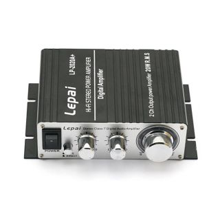 Lepai TRIPATH TA2020A+ Amp Mini Hi Fi Audio Amplifier + Power adapter