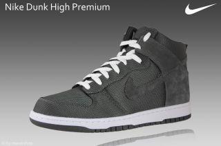 Nike Dunk High Premium Gr.46 Schuhe hi exclusive Sneaker grau 408174