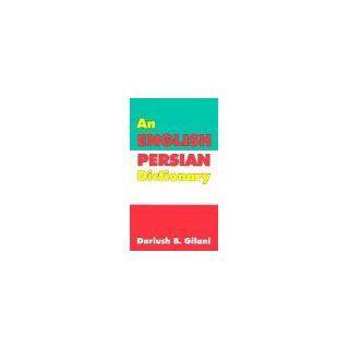 An English Persian Dictionary Dariush Gilani Englische