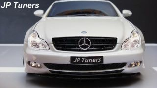 18 WHITE MERCEDES CLS TUNING JPTUNERS  UNICO.UNIQUE★