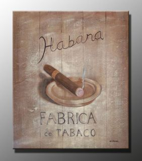 Art oil painting on canvas cigar 20x24 df199