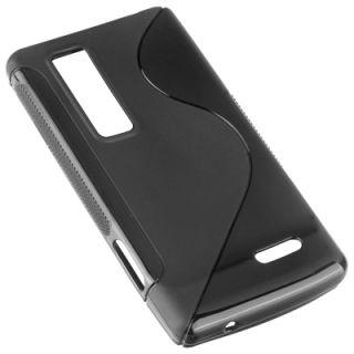 Design Protect Case f LG Optimus 3D Max P720 Hülle Tasche schwarz
