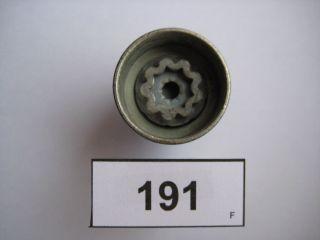Opel Felgenschloss Schlüssel Spezialnuss Wheel lock key 191