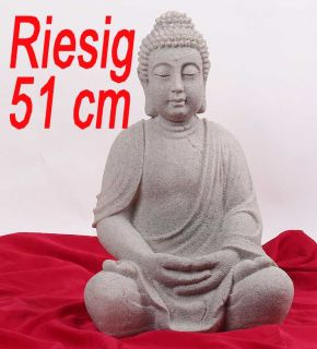 209C) riesige Deko Asien Garten BUDDHA Figur Statue Skulptur FENG
