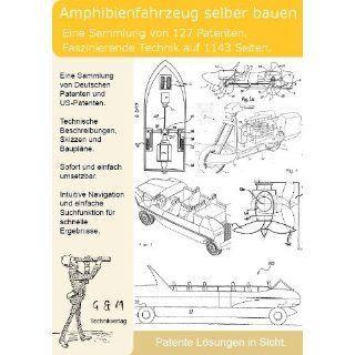 Amphibienfahrzeug selber bauen 127 Patente zeigen wie es geht