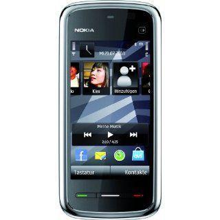 Nokia 5230 Navi Smartphone 3,2 Zoll black chrome