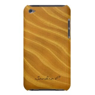 stripes of gold iPod Case Mate case