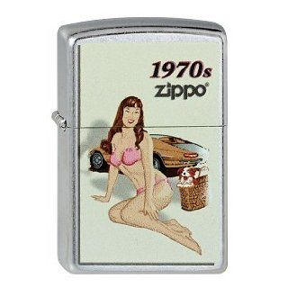 Zippo 2.003.131 Feuerzeuge Pinup Girl 1970   Collection 2013   Street