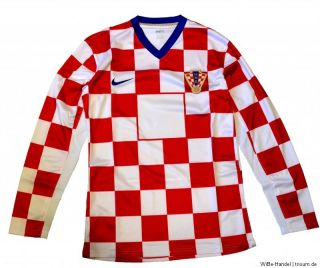 Nike Kroatien National Trikot   Gr. XL & XXL   Langarm / Longsleeve