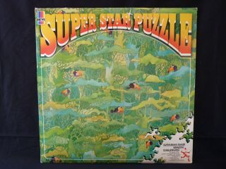 Vintage HEYE Super Star Puzzle Jungle Melody 1982 COMPLETE 216pc