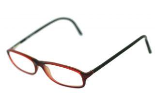 Fielmann Obra 320 Flex FA GA219 Brille Rotbraun Schwarz glasses