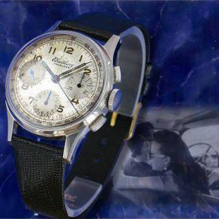 Breitling 787 Premier Tricompax Venus 178 früher Chronograph