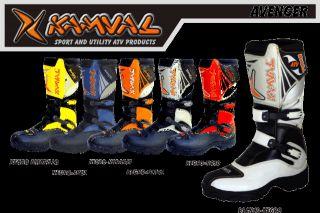 KAMVAL AVENGER Botas moto quad atv todas las tallas