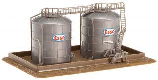 Faller N 222131 2 Hochtanks   2 oil storage tanks Neu