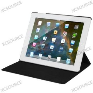 For new iPad 2 3 360° Magnetic PU Leather Case Smart Cover Swivel