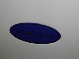 Acacia 207   Sitzbadewanne mit Fronteinstieg u. Whirlpool