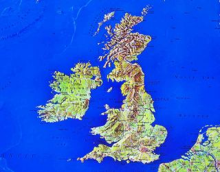 ALPEN Panorama Karte~214 x 60 cm~extra lang~2 teilig !!