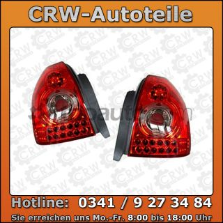 LED Rückleuchten Set Honda Civic 96 00 rot 96 00
