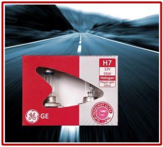 GE General Electric H7 MegaLight Ultra +90% 2er Set