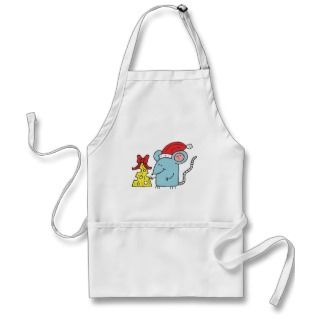 Christmas Mouse Aprons