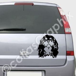 Cavalier King Charles Spaniel Autoaufkleber Art237 S