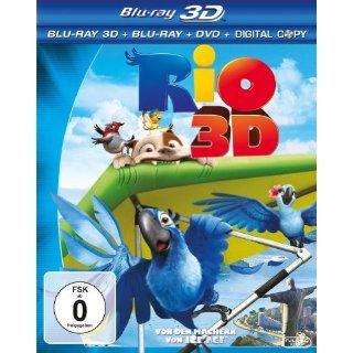 Rio (inkl. Blu ray + DVD + Digital Copy) [3D Blu ray]