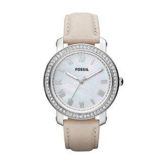 Fossil Damen Armbanduhr Analog Quarz Leder ES3189 Uhren