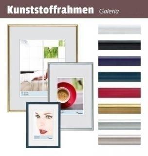 Walther KB090H Galeria Kunststoffrahmen im Format 60 x 90 schwarz