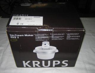 Ice Cream Maker GVS GVS241 GVS 241 unbenutzt ovp Eismaschine